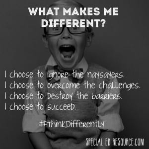 What Makes Me Different? | Special Education Resource