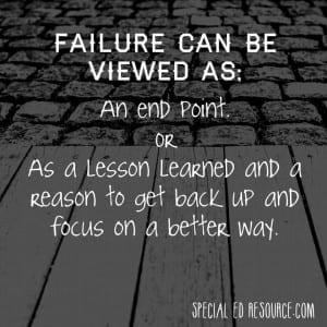 Failure Is Merely A Pivot Point