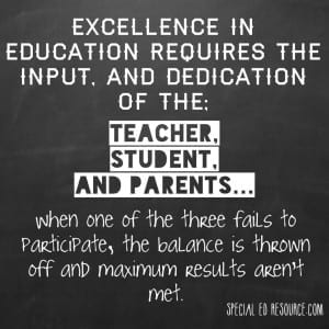 Excellence In Education Requires A Balance