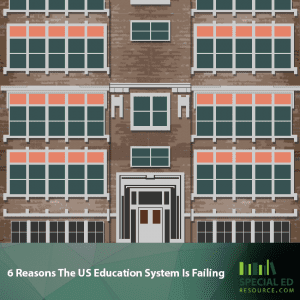 6 Reasons The US Education System Is Failing