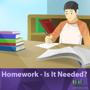 Homework - Is It Needed tanda tanya