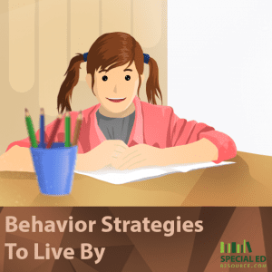 Behavior Strategies To Live By