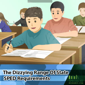 The Dizzying Range Of State SPED Requirements